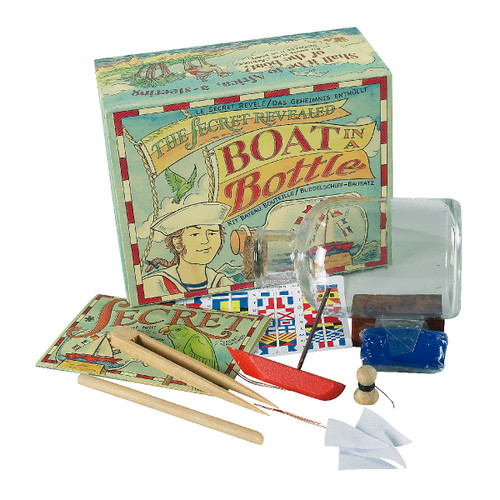 Boat In A Bottle Kit by Authentic Models®