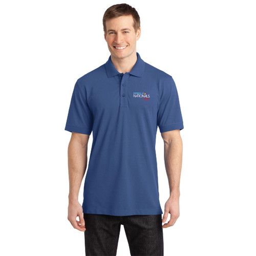 Express 27 Nationals 2018 Men's Wicking Stretch Polo (Customizable)
