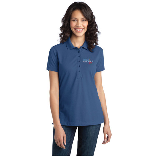 Express 27 Nationals 2018 Women's Wicking Stretch Polo (Customizable)