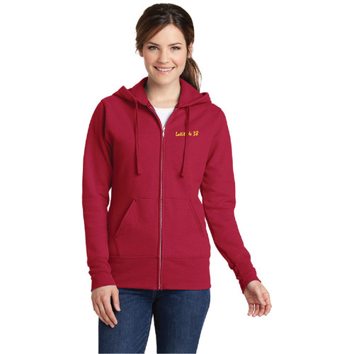 CLEARANCE! Latitude 38 Ladies Zippered Hoodie