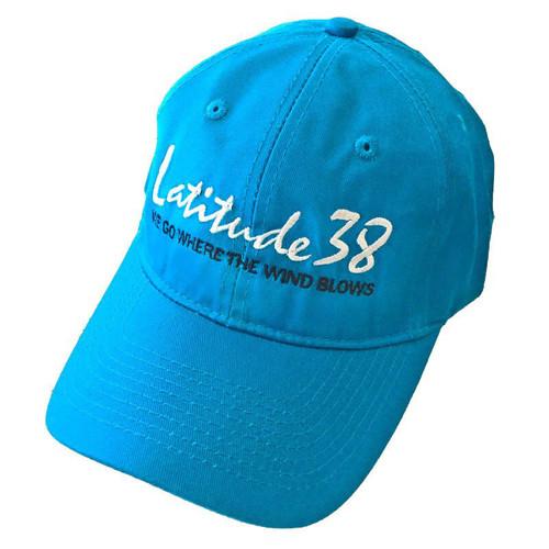 Latitude 38 Pigment Dyed Logo Cap