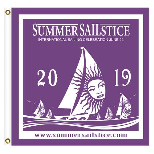 2019 Summer Sailstice Burgee