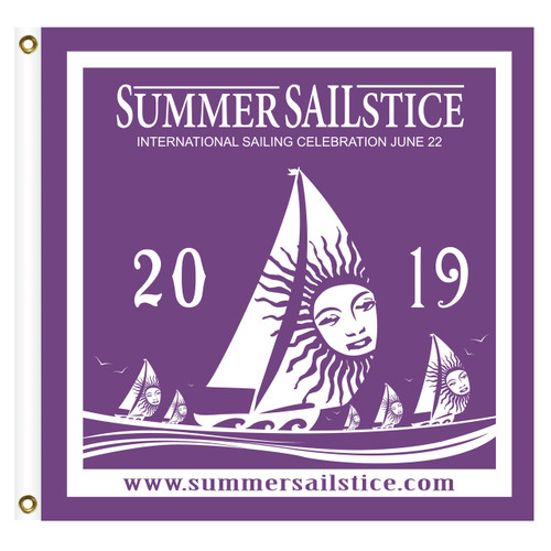 2019 Summer Sailstice Burgee