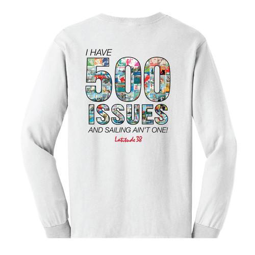Latitude 38 500 Issues Long Sleeve Cotton Tee