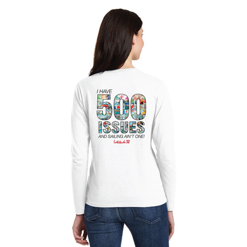 Latitude 38 500th Issue COMMEMORATIVE LIMITED EDITION Women's Cotton Long Sleeve Shirt