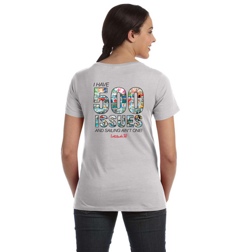 Latitude 38 500th Issue COMMEMORATIVE LIMITED EDITION  Women's Cotton T-Shirt