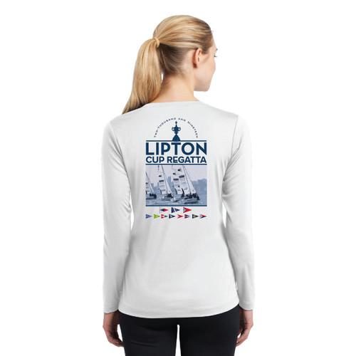 PICYA Lipton Cup 2019 Women's Long Sleeve Wicking Shirt (Customizable)