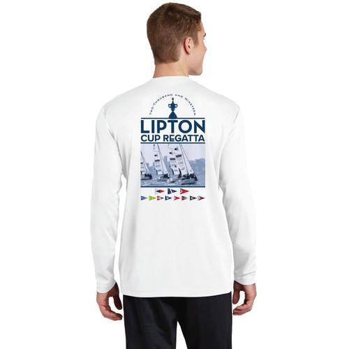 PICYA Lipton Cup 2019 Men's Long Sleeve Wicking Shirt (Customizable)