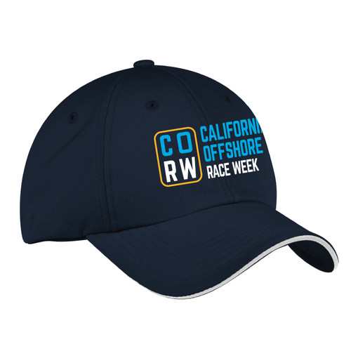 California Offshore Race Week 2021 Wicking Sailing Cap (Customizable)