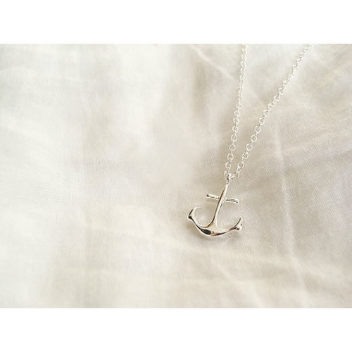 Silver Necklace/Pendant with Anchor