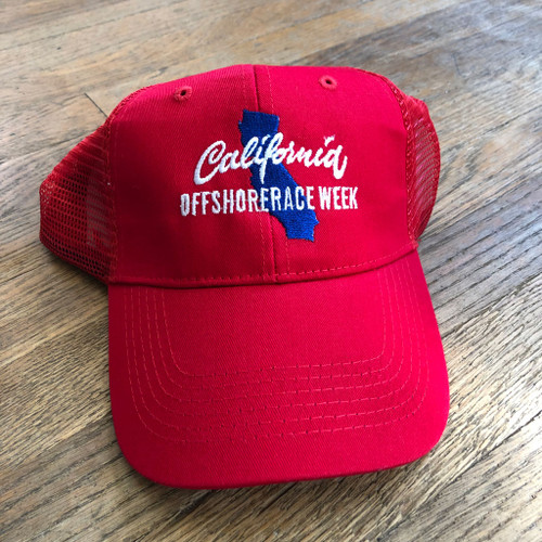 California Offshore Race Week Trucker