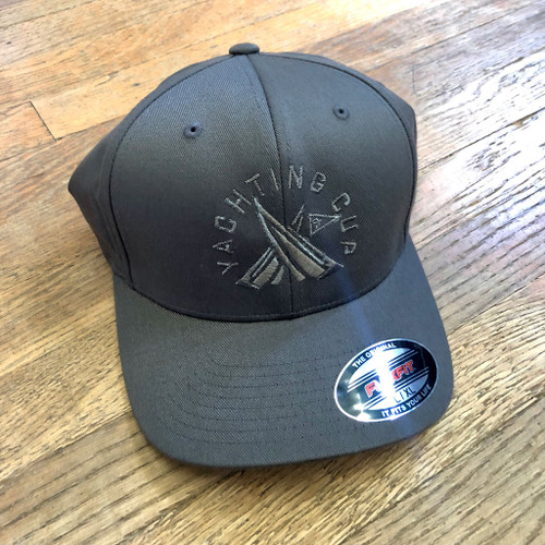 SDYC Yachting Cup FlexFit Cap Gray/Gray (Customizable)