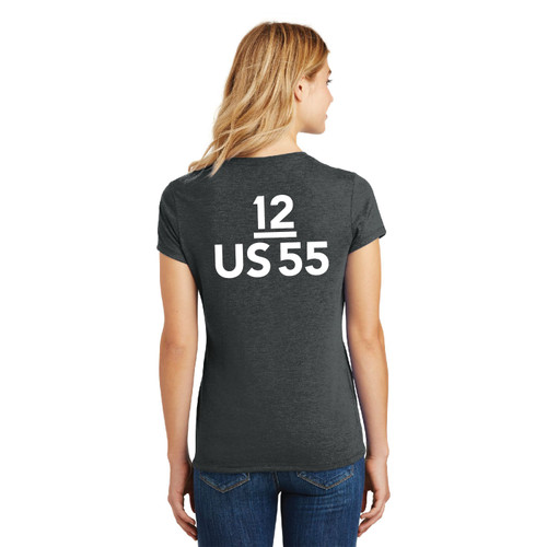 Dennis Conner Stars & Stripes '87 Women's Crew Neck Cotton T-Shirt