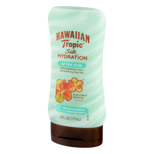 Hawaiian Tropic Silk Hydration After Sun Lotion with Aloe Gel (6 FL OZ.)