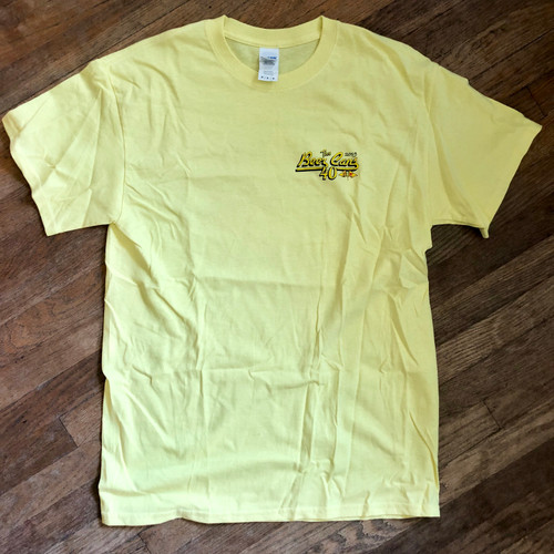 CRA Beer Cans San Diego 2019 Men's Cotton Tee (Yellow)