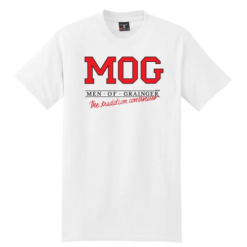 Vintage Men of Grainger T-Shirt by Rita Hoshino (White)