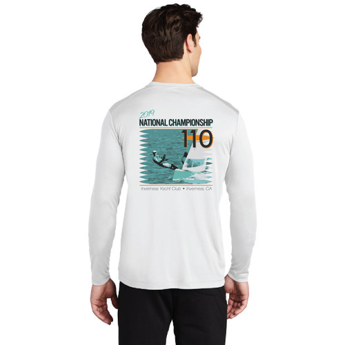 110 Nationals 2019 UPF 50+ Wicking Shirt (Customizable)