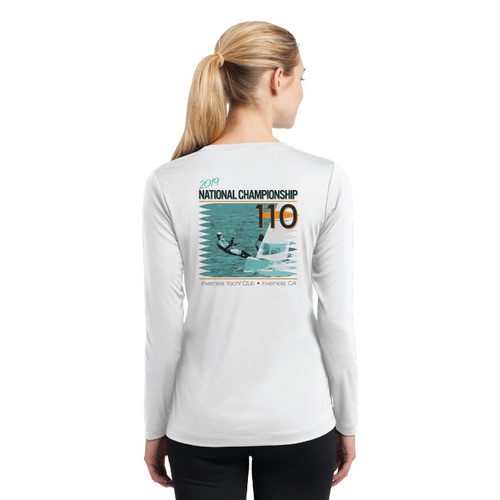 110 Nationals 2019 Women's Long Sleeve Wicking Shirt (Customizable)