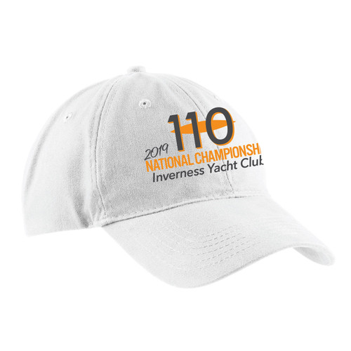 110 Nationals 2019 Cotton Sailing Cap (Customizable)