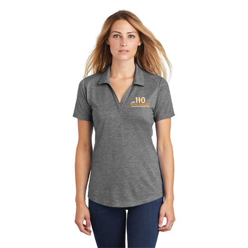 110 Nationals 2019 Women's Wicking Polo (Customizable)