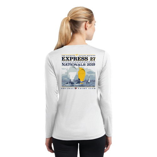Express 27 Nationals 2019 Women's Long Sleeve Wicking Shirt (Customizable)
