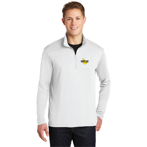 Mount Gay® Rum Men's 1/4 Zip Wicking Sailing Shirt (Customizable)