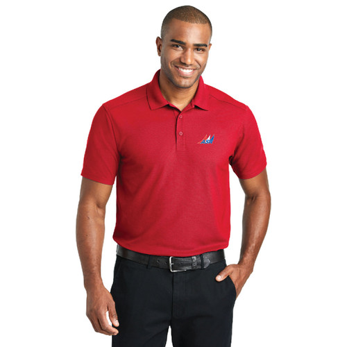 American Sailing Association Men's Performance Polo Shirt (Customizable)