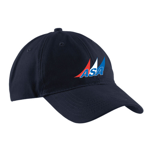 American Sailing Association Cotton Cap (Customizable)