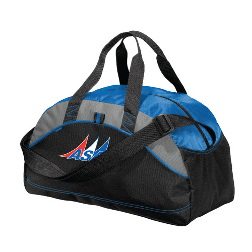 American Sailing Association Medium Duffel Bag (Customizable)