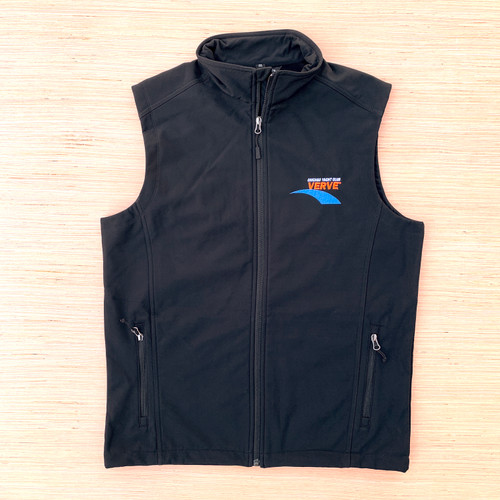 Chicago Yacht Club Verve Cup Men's Soft Shell Vest (Black)