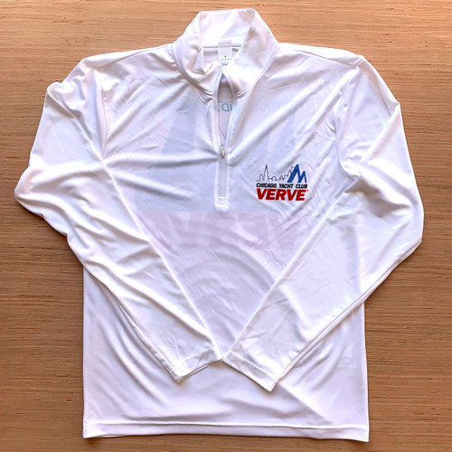 Chicago Yacht Club Verve Cup 2019 Men's 1/4 Zip Wicking Sailing Shirt