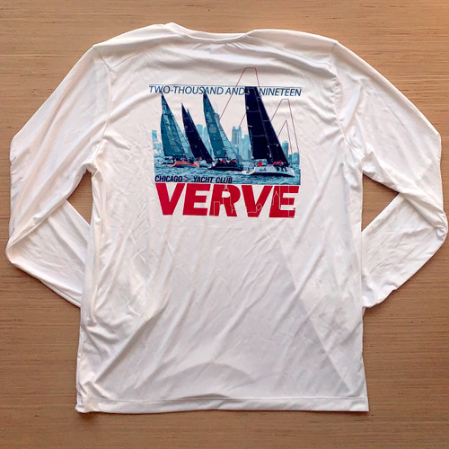 Chicago Yacht Club Verve Cup 2019 Men's UPF 50+  Wicking Shirt (Customizable)