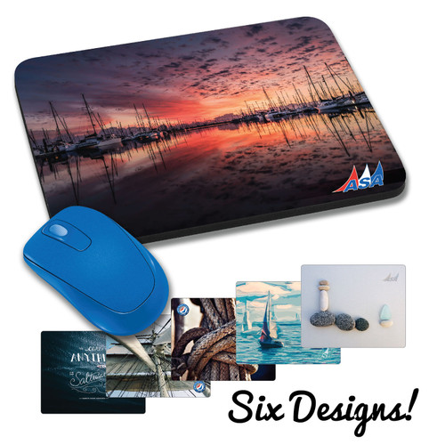 American Sailing Association® Mousepad
