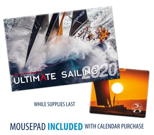 Ultimate Sailing Calendar 2020 (BONUS: Includes FREE mousepad!)