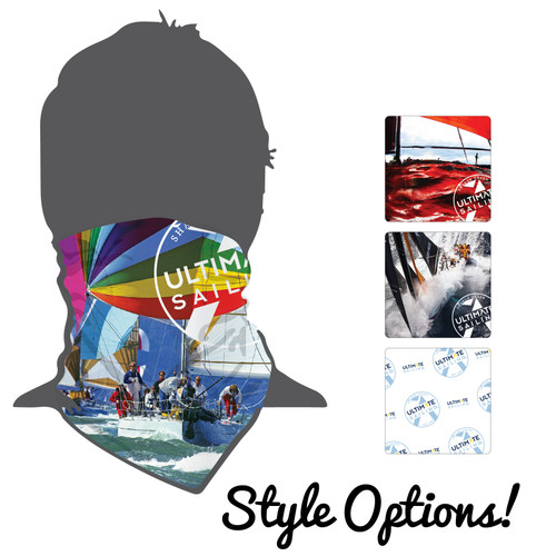 NEW DESIGNS! Ultimate Sailing UPF 50+ Moisture Wicking Neck Gaiter (Buff)