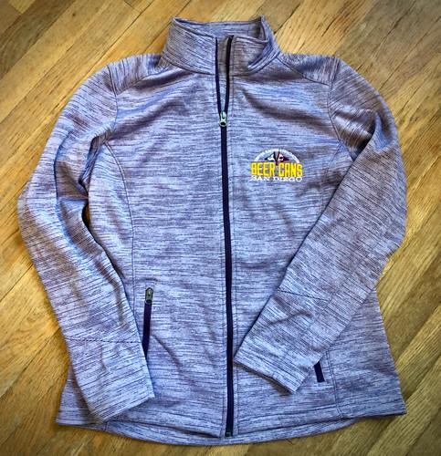 CRA Beer Cans San Diego Women's Digi Stripe Fleece Jacket