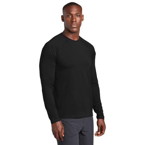 Men's Long Sleeve UPF 50+ Rashguard Wicking Shirt