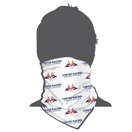 Cortez Racing Association Moisture Wicking Neck Gaiter (Buff)