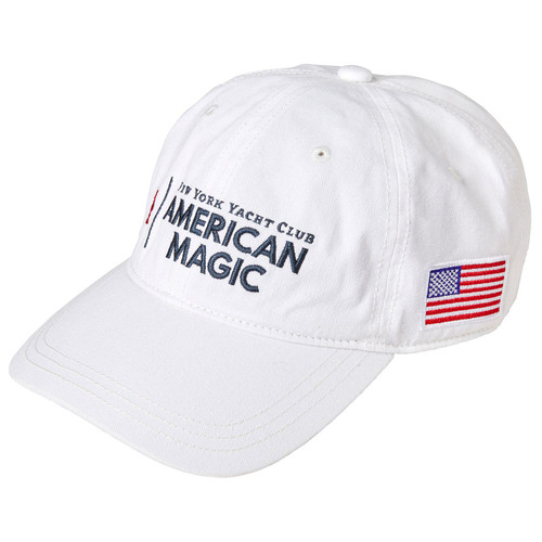 American Magic Cotton Cap White (Customizable)