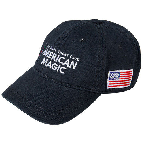 American Magic Cotton Cap Navy (Customizable)