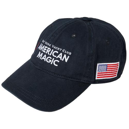 American Magic Cotton Cap Navy (Customizable)