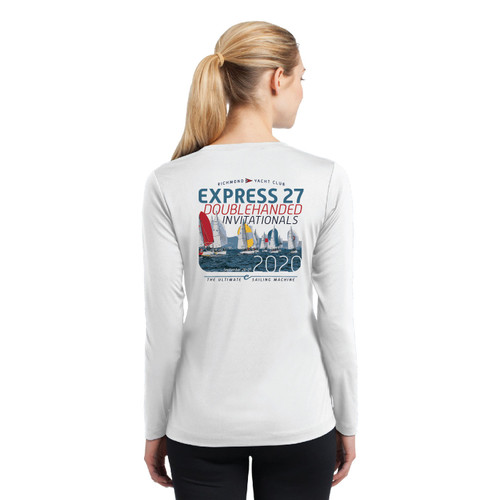 Express 27 Doublehanded Nationals 2020 Women's Long Sleeve Wicking Shirt (Customizable)