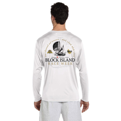 Block Island Race Week 2017 UPF 50+ Wicking Shirt (Customizable)