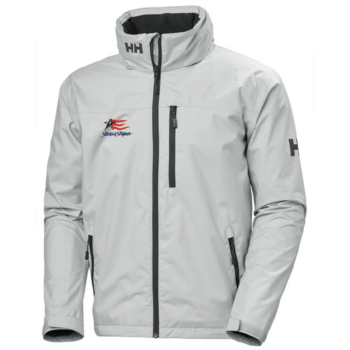 Dennis Conner Stars & Stripes Helly Hansen® Men's Crew Hooded Jacket (Customizable)