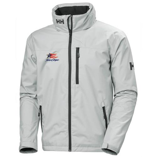 Dennis Conner Stars & Stripes Helly Hansen®Men's Crew Hooded Jacket (Customizable)