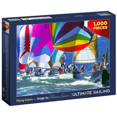 "NEW! Ultimate Sailing ""Flying Colors"" Puzzle"