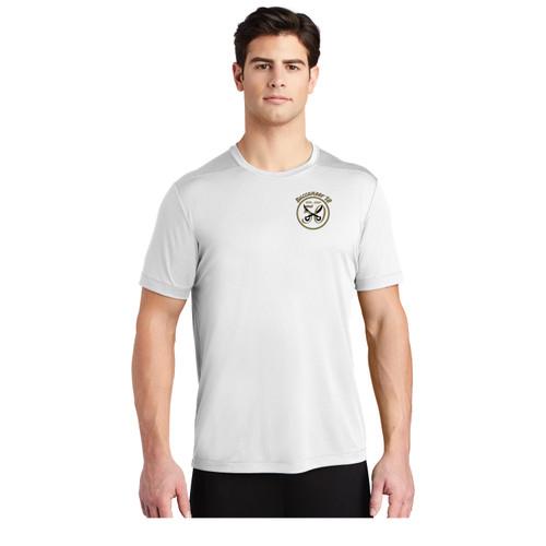 Buccaneer 50th Anniversary Short Sleeve Wicking Shirt (White)
