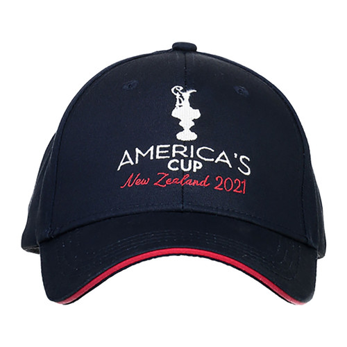 36th America's Cup Trophy Cap — Navy