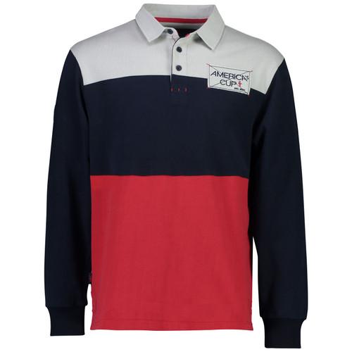 36th America's Cup Cheltenham Rugby Jersey — Navy