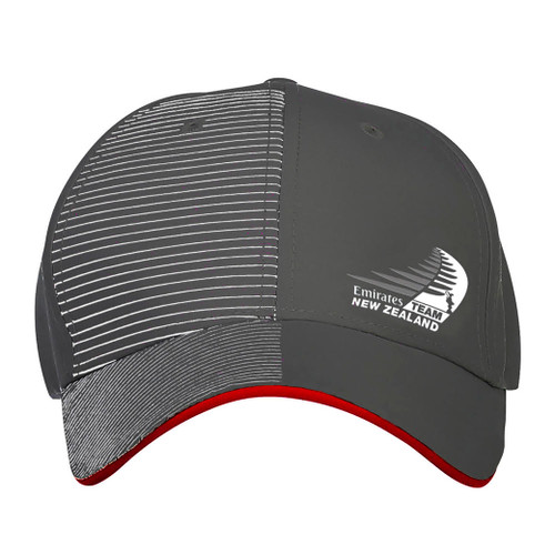 36th America's Cup Emirates Team New Zealand Sailing Cap — Charcoal